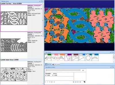 Cad Cam Nesting Software For Cutting Machines Lantek