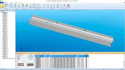 Lantek Flex3d Steelwork - Beam part