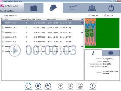 Lantek Wos - Job monitoring