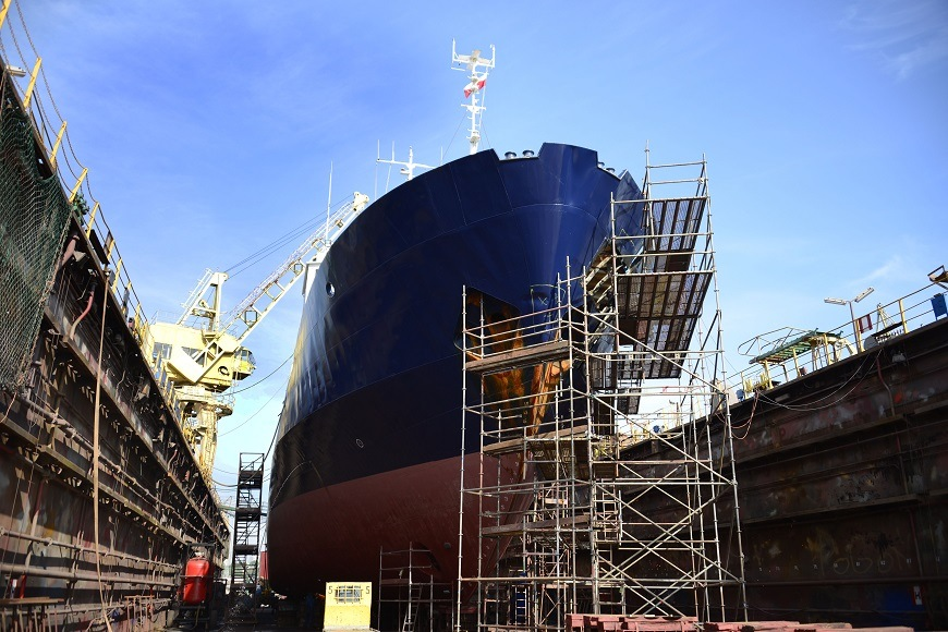 The wind blowing in favor of the naval sector is called Industry 4.0