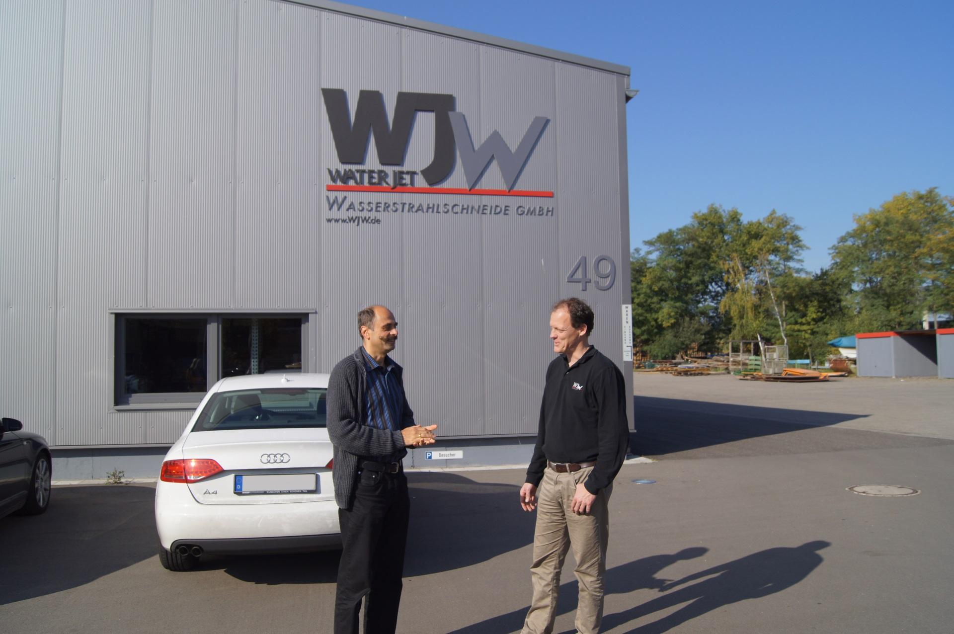 WJW Waterjet Wasserstrahlschneide GmbH - Factory