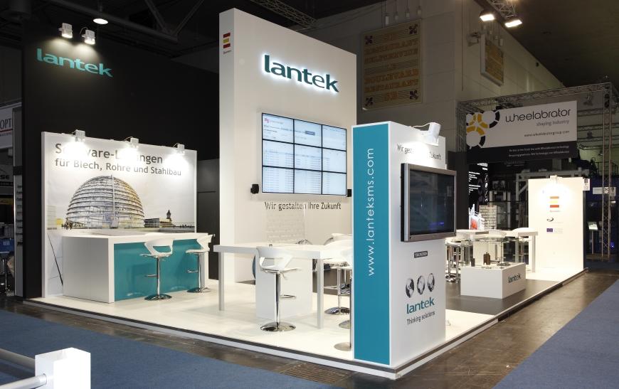 Lantek expose ses solutions logicielles les plus puissantes pour le travail de la tôle au salon EuroBLECH 2012