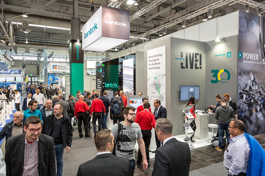 Lantek's successful presentation at the Euroblech 2016 trade show