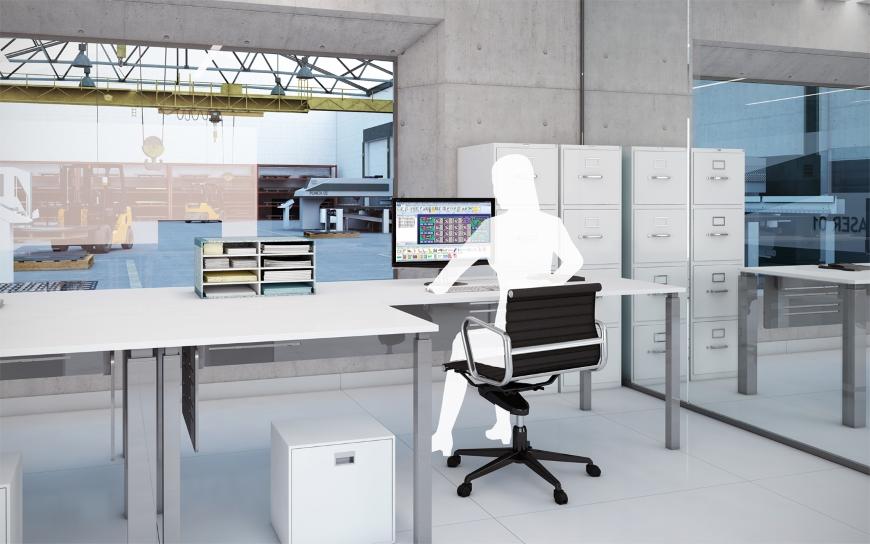 Lantek Factory concept at MACH 2014