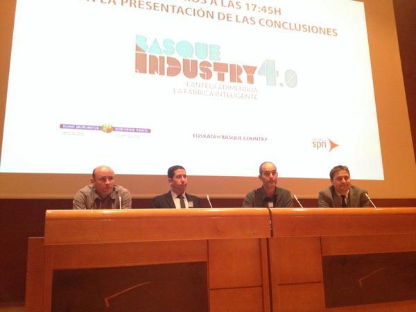 """Lantek präsentiert sein Konzept """"Lantek Factory"""" auf der """"Basque Industry 4.0"""""""