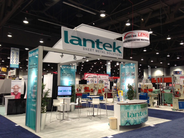 Lantek exhibits at Fabtech 2012 in Las Vegas