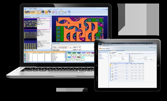 Lantek Expert, CAD/CAM Nesting Software