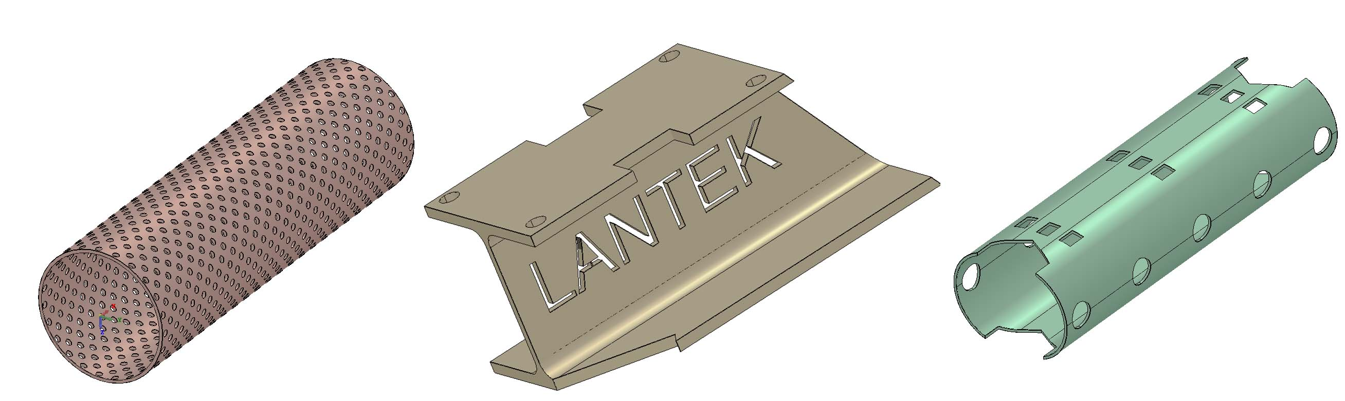 Lantek Flex3d Tubes  - Zeichnungsoptionen