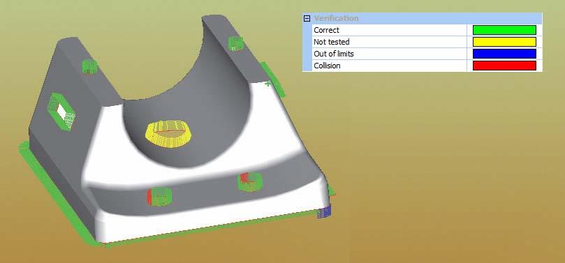 Lantek Flex3d 5x  - Simulación del mecanizado