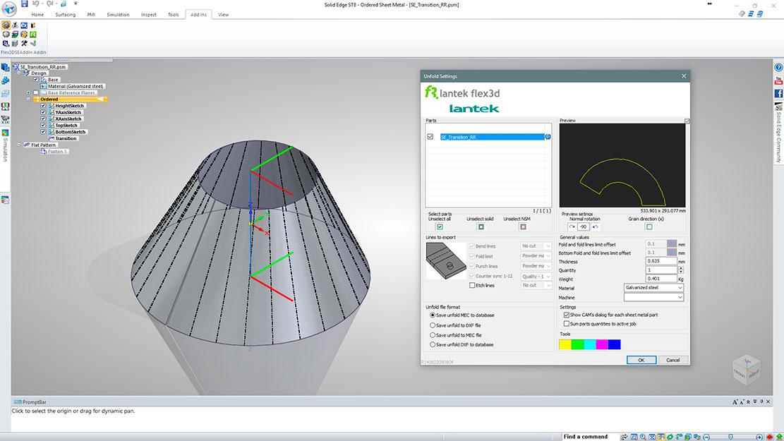 Nesting Software For Solidworks Lantek Flex 3d Addins