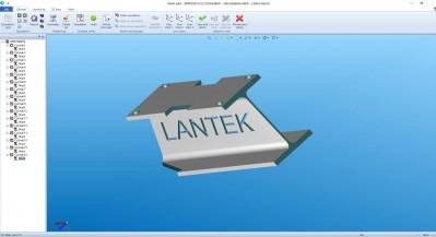 Lantek Flex3d Steelwork  - Profilteil