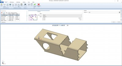 Lantek Flex3d Tubes  - Teilekonstruktion