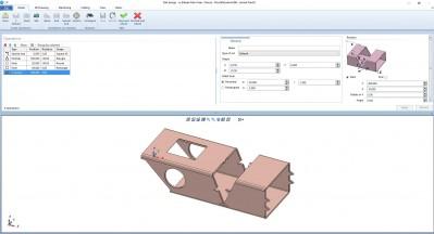 Lantek Flex3d Steelwork  - Importiere die Teile