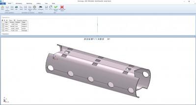Lantek Flex3d Tubes  - 단품 디자인
