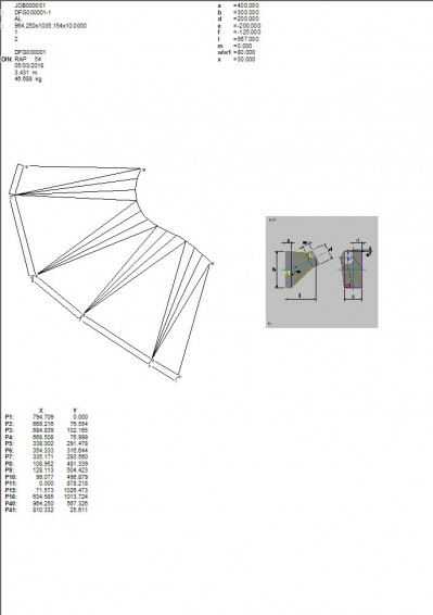 Lantek Expert Duct  - Drawing